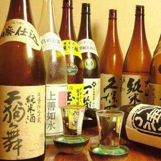 日本酒・焼酎にもこだわっています!