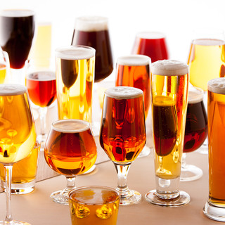 毎日飲んでも飽きない種類豊富なクラフトビール★