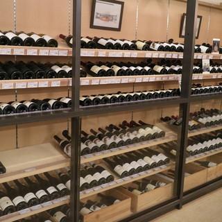約1500種のワイン