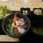 TERU - 海鮮丼ランチ 税込780円