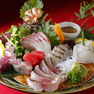玄界灘や天草など産地直送の新鮮な魚!!
