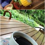 52876491 - コブサラダとホットコーヒー