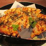 旬鮮ダイニング 凛家 - 明太子と山芋のシーフードピザ