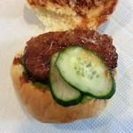 神田屋 - 料理写真:ハンバーガー