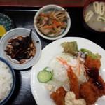 食堂 山男 - 日替り定食