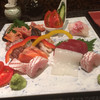 まつ寿司 - 料理写真:刺身の盛り合わせ
