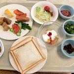 湯元ニセコプリンスホテルひらふ亭 - 料理写真:私がバイキング揃えた料理