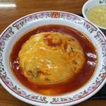 52881279 - 天津丼と炒飯の華麗なるコラボ「天津炒飯」