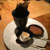 クリームチーズと海苔と塩辛