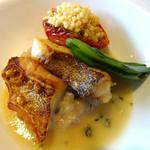 レストラン ルスティク - 2016/6 魚メイン・ハタ