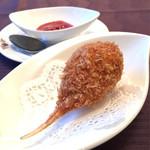 中国料理 桂林 - 蟹爪の揚げ物