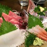 お魚料理 うおせい - 刺盛り