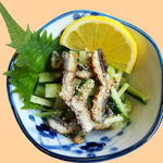 橋本屋 - 鰻のタレ酢和え