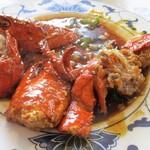 Fook Yuen Seafood Restaurant - ロブスター(ブラックビーンズ炒め)