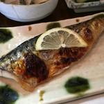 岡田 - ♪さば塩焼き定食¥870