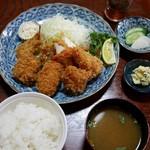 52898925 - 【2015年5月】ミックスフライ定食 1,700円