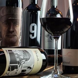 スペイン直送のワインが豊富♪お気に入りの一杯を見つけてみては
