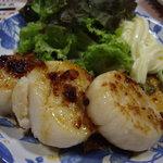 菊仙 - ホタテバター焼き