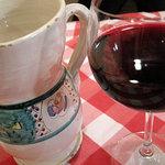 ブラッスリー・グー - 赤ワインはデカンタージュ