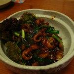 金海別館 - 料理写真:タカセ貝の味噌炒め