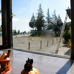 5290558 - 店内から諏訪湖湖畔どおり方面を望む