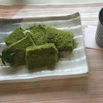 福寿園 宇治工房 福寿茶寮 - お茶のわらびもち