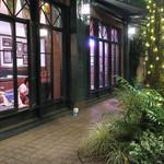 MLB Cafe Tokyo - バナーが醸し出す雰囲気〜♬