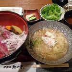52901340 - ビフテキ重+小冷麺