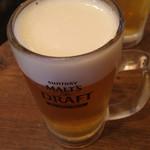 立ち呑み屋 - ビール