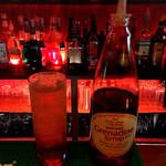 LIVE&SPORTS BAR BRAN - ノンアルコールのシャーリーテンプル