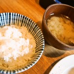 キッチンごりら - ご飯&豚汁