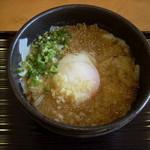 うどん茶屋 海津屋 - ぶっかけふし麺