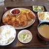 Teshima Restaurant - 料理写真:日替わり定食(チキンカツ)