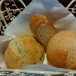 文化洋食店 - 温かいパン♪