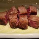 さが風土館 博多季楽 - ヒレ肉