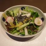 さが風土館 博多季楽 - 季節のサラダ