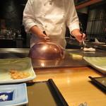 さが風土館 博多季楽 - 焼野菜は二度に分けて焼かれてました