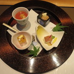 さが風土館 博多季楽 - 本日の前菜