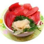 駿河湾朝獲れ回転寿司のぶちゃん - まぐろミニ丼