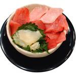 駿河湾朝獲れ回転寿司のぶちゃん - まぐろトロトロミニ丼