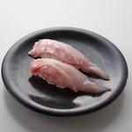 駿河湾朝獲れ回転寿司のぶちゃん - 金目鯛