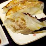 海老そばエースのジョー - ジャンボ餃子3コ380円