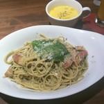 es - ジェノベーゼ パスタ&スープ