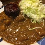 マーブル - インドカレー ハンバーグ950円