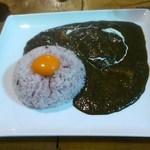 カフェわら - あま辛黒カレー@900