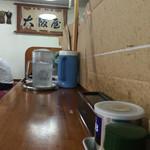 52917542 - 2016年6月。郡山大阪屋の暖簾が。
