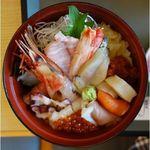 海鮮処 かふか - 海鮮丼,海鮮処かふか,香深,礼文島,食彩品館.jp撮影