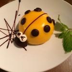 76CAFE - テントウ虫のケーキ