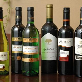 【格安!ボトル980円〜!】豊富なドリンクとオリジナルワイン