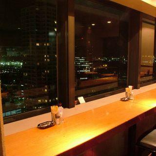 神戸の街を一望。